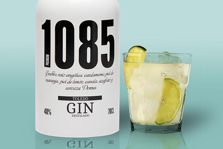 gin tonic 1085 gincillo, ginebra hecha con cerveza, ginebra toledana, ginebra de Toledo
