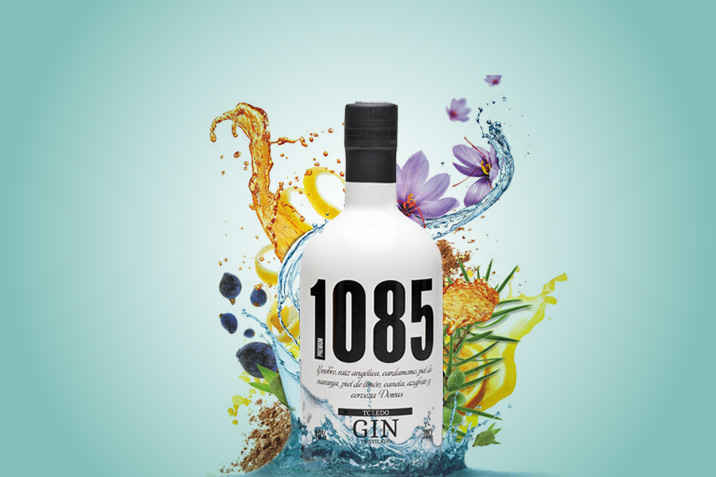 gin 1085, ginebra hecha con cerveza, ginebra toledana, ginebra de Toledo