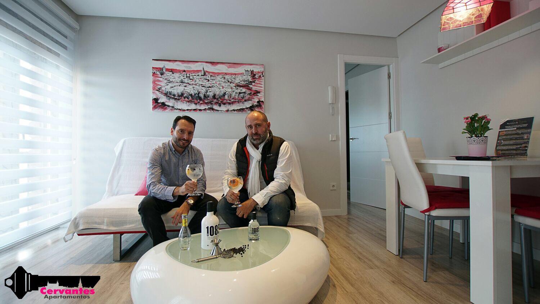 Gin1085 te invita a una degustación en los apartamentos Cervantes de Toledo.