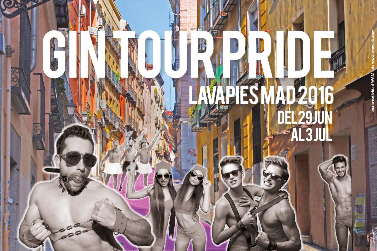 Gin Tour Pride 2016 Lavapiés Madrid